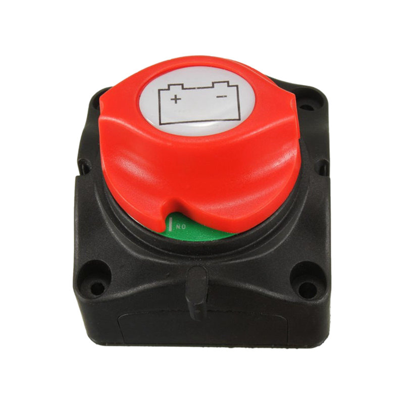 Removable Knob Marine Battery Isolator Cut Off Kill Switch Boat 12V/24V/48V image