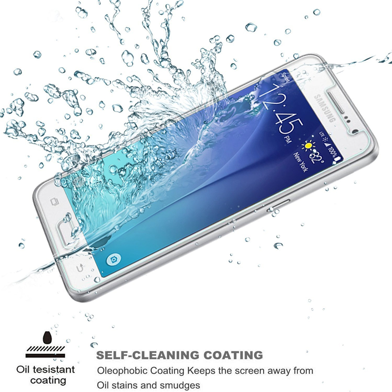 0 22mm 2 5D Tempered Glass For Samsung Galaxy J1 J3 J5 J7 2015 SM J510 J710 2016 J4 J6 J8 2018 Screen Protector Protective Film in Phone Screen Protectors from Cellphones Telecommunications