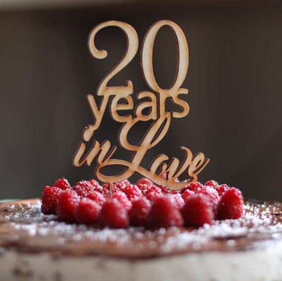 Affordable Freies Verschiffen Jahre In Liebe Kuchen Topper Holz Kuchen  Topper In Freies Verschiffen Jahre In Liebe Kuchen Topper Holz With Holz  Kchen