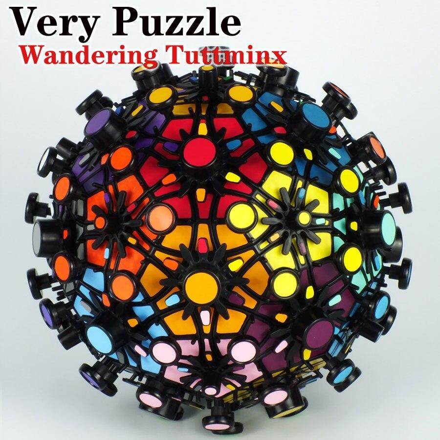 Cubo magico di puzzle VeryPuzzle 32 assi Errante Tuttminxstray calcio professionale torsione creativa giocattolo gioco educativo cubo regalo-in Cubi magici da Giocattoli e hobby su  Gruppo 1