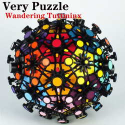 Magic cube puzzle VeryPuzzle 32 axis Wandering Tuttminxstray football professional educational twist creative toy game cube gift