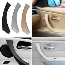 Правая сторона автомобиля внутренняя дверь Панель потяните за ручку внешний Накладка для BMW 3-серии E90 E91 E92 E93 стайлинга автомобилей