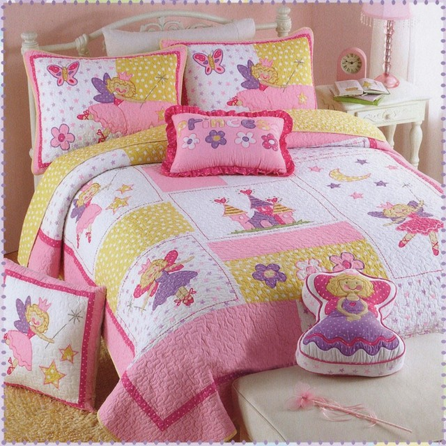 Girl fairy princess quilt cover Quilt Set 2Pcs/set American ... : fairy quilt cover - Adamdwight.com