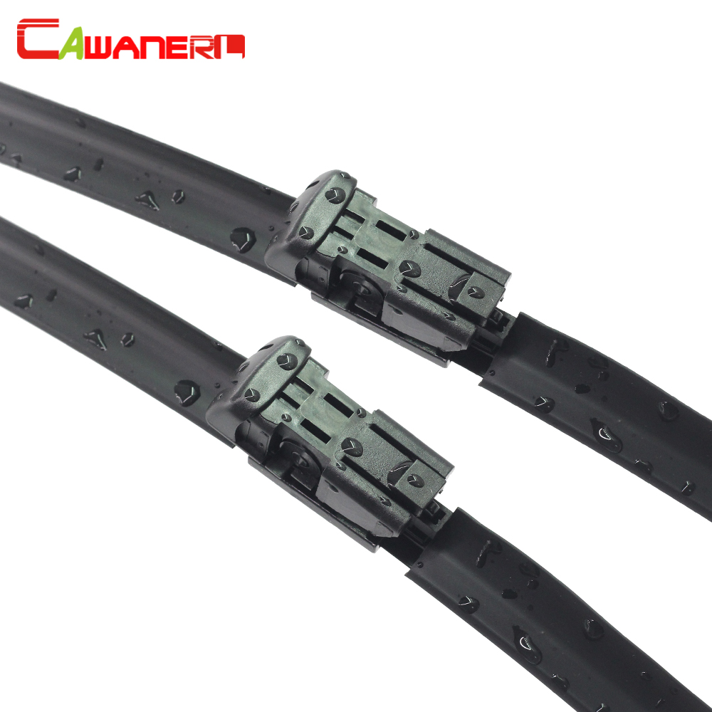 Cawanerl For Seat Ibiza 2008 2016 Car Soft Rubber Windscreen Wiper ...