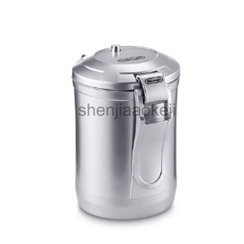 цена на 1.6L vacuum coffee beans powder storage tank sealed tank removable storage tank 1.6L Capacity
