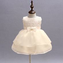 Brand Toddler Girl Baptism Clothes Girl Newborn Baby Christening Gown Dress For Girl Kids Party Wear Birthday OutfitsBBD020-1