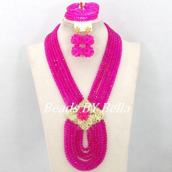 jóias de cristal moda presente colar frete grátis abj880