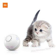 Xiaomi Petoneer Pet smart companion ball игрушка для кошек Встроенная кошачья мяча коробка неправильная прокрутка забавный кот артефакт Умная игрушка для домашних животных