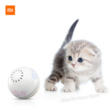 Xiaomi Petoneer Pet smart companion ball  Cat Toy Built in catnip box Irregular scrolling funny cat artifact Smart pet toy