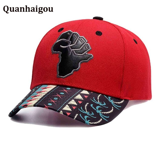 f6baf1d515149 Men s Map Of Africa Power Embroidery Snapback Hat