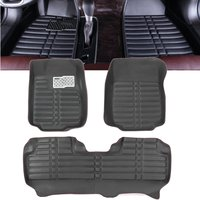 Car Floor Cover Leather Front Rear Liner Waterproof Mat For Honda CRV 2012 2016