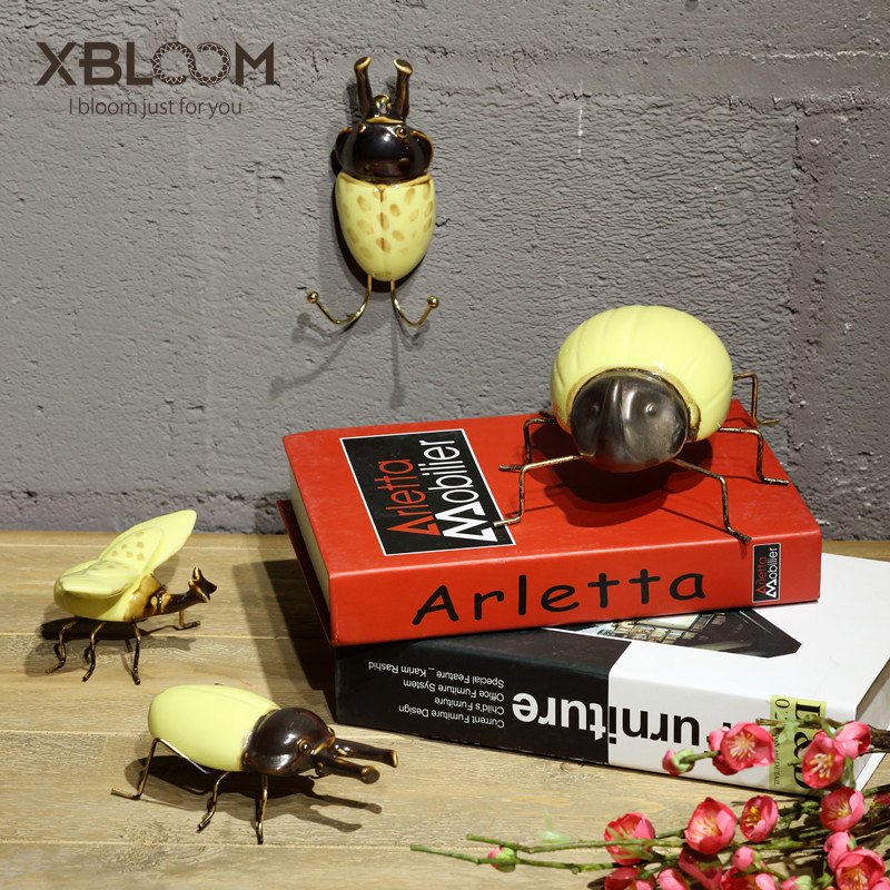 Beetle Miniature Dollhouse Outdoor Statue