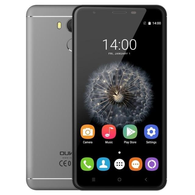 OUKITEL U15 Pro 5.5 дюймов Экран Android OS 6.0 Мобильный Телефон MTK6753 Octa Ядро 1.3 ГГц ROM 32 ГБ RAM 3 ГБ OTG Dual SIM 16MP Камера