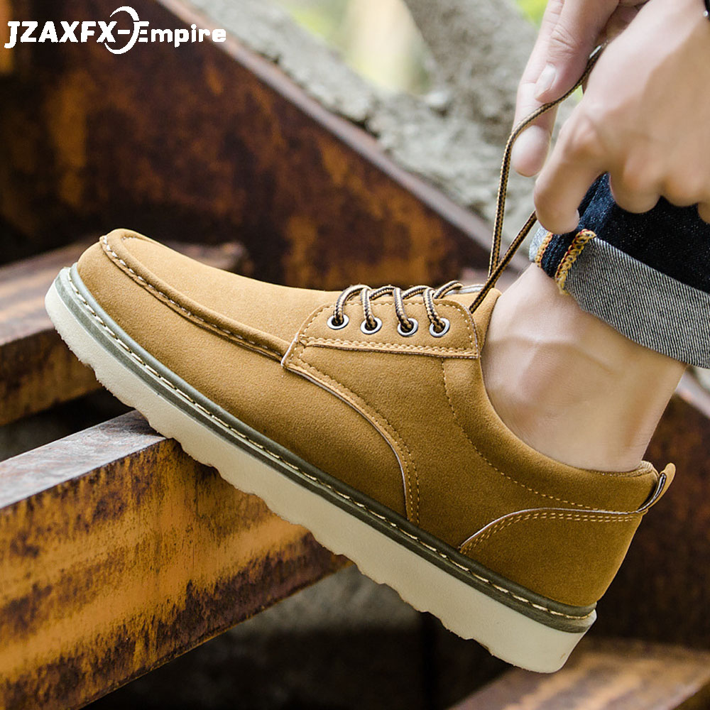 Men Casual Leather Shoes Lace Up Comfortable Mens Military Shoes Work Safety Shoes Top Quality spring Autumn BootsMen Casual Leather Shoes Lace Up Comfortable Mens Military Shoes Work Safety Shoes Top Quality spring Autumn Boots