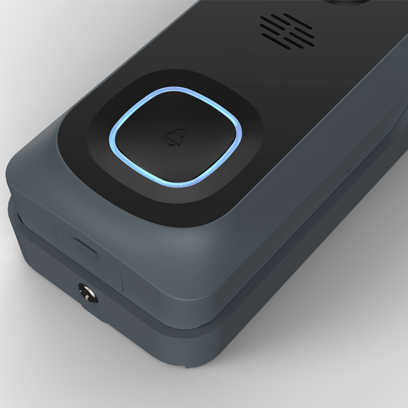 Купить с кэшбэком Prerecorded Quick Responses Wireless WiFi 1080P Video Doorbell Cloud Storage 128G TF Card Door Bell with Battery and Chime