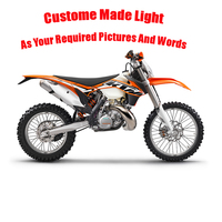 Customize Motocross Motorbike Remote Control Or Touch Switch 3D LED Night Light 7 Color Changing Decor