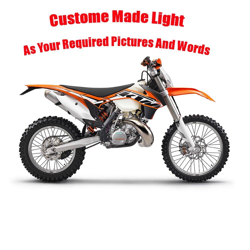 Luzes da Noite personalizar motocross moto controle remoto Fonte de Energia : Dc, bateria Seca