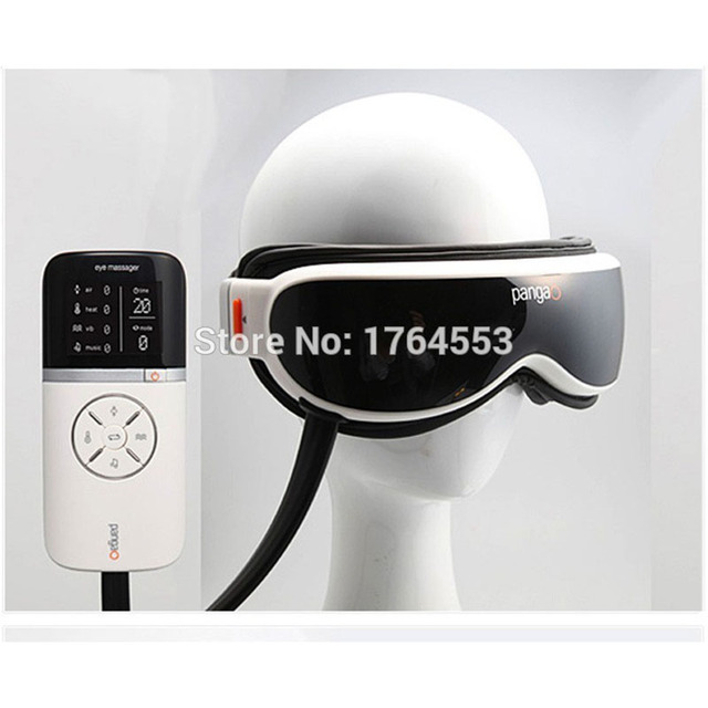 Eletric Pangao Air pressure Eye Massager Vibration And Heating Function Dispel Eye Bags,Eye Magnetic Far-infrared Heater Device