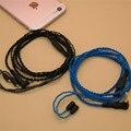Горячий Продавать 14 ядра 1.25 М ручной Кабель Наушников Hi-Fi Гарнитура Линия upgrad кабель для Shure контактный серии (535/215 и т. д.)