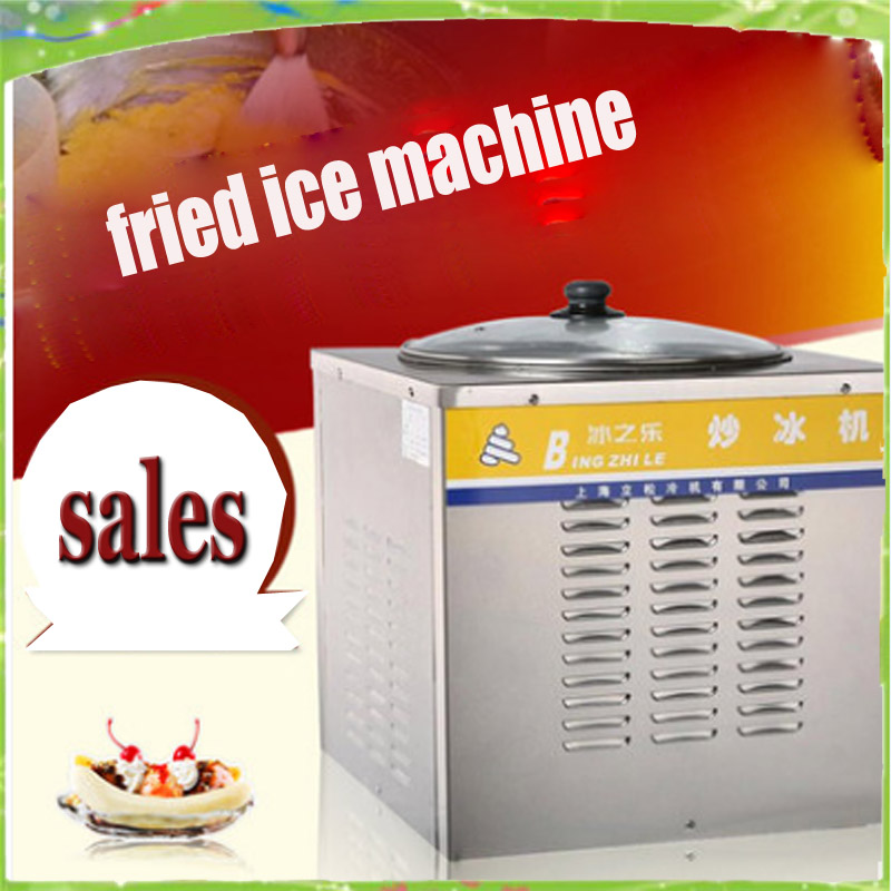 New Thailand Ice Cream Machine Flat Pan Fried Ice Cream Roll Machine Ice Pan Machine Ice Cream Frying Machine купить