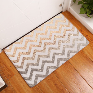 Image 4 - Waves Shining Diamond Rugs Kitchen Anti Fatigue Mat,Comfort Floor Mats,Standing Desk Mats Anti slip Runner Area Rug for Kitchen