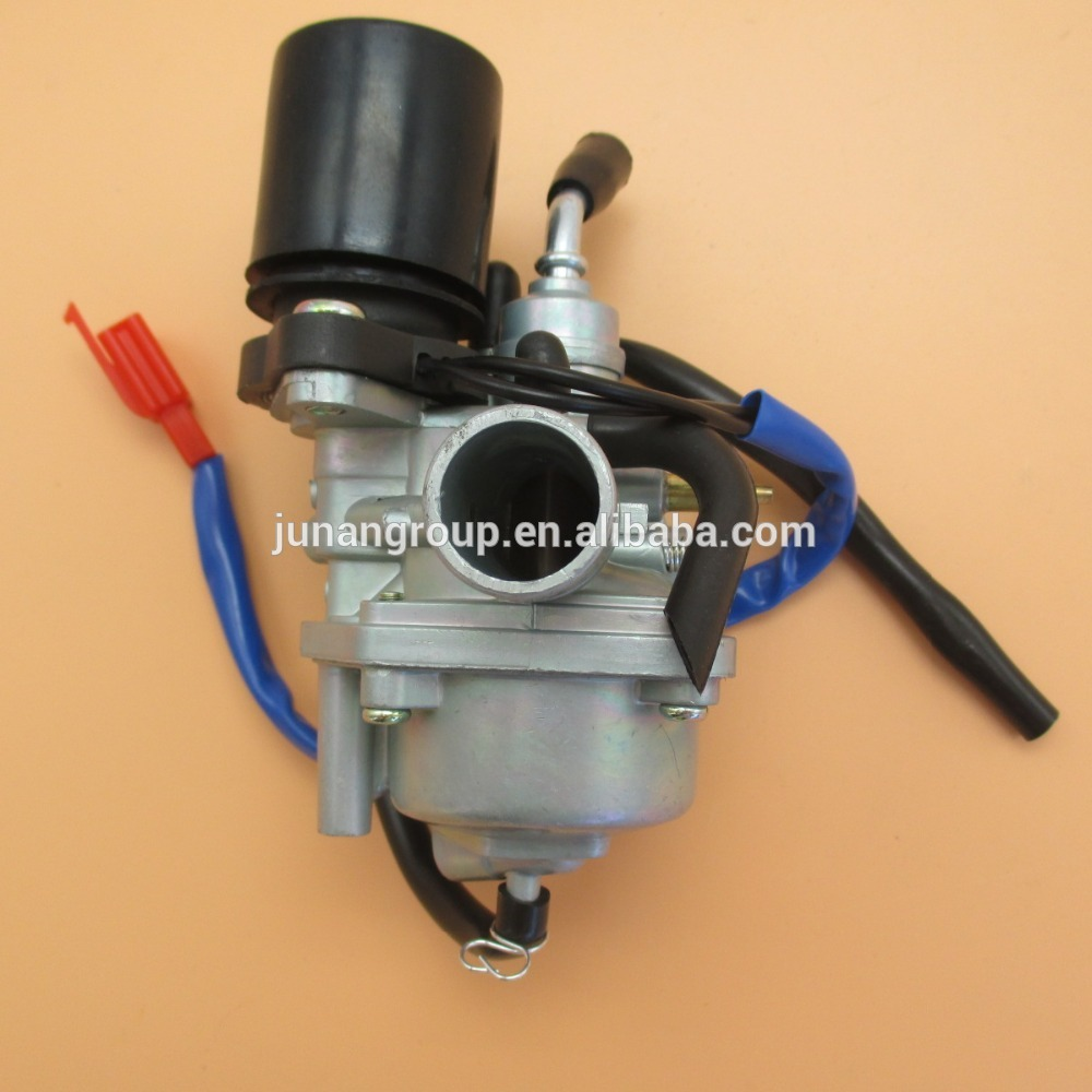 medium resolution of carburetor for 2 stroke dinli 50cc 70cc 90cc 100cc 110cc atv carb electric chock