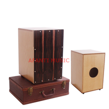 Afanti Music Rosewood / Birch Wood / Natural Cajon Drum (KHG-157)