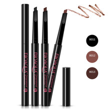 1pcs Rotatable Waterproof Eyebrow Pencil Women Ladies Longlasting Brow Eye Liner Pen Makeup Cosmetic Beauty Tool