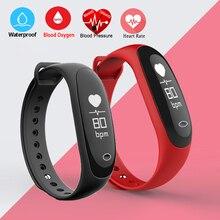 10 шт. Smart Band Фитнес браслет сердечного ритма Мониторы Приборы для измерения артериального давления/кислорода трекер Bluetooth Водонепроницаемый IP67 браслет Часы