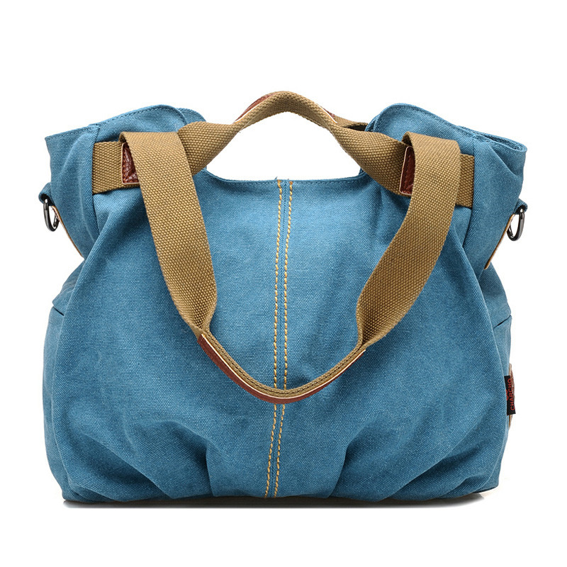 Hot Designer Handbags Women High Quality Brand Vintage Shoulder Bag Ladies Canvas Large Capacity Tote Bags Bolsa Feminina forudesigns casual women handbags peacock feather printed shopping bag large capacity ladies handbags vintage bolsa feminina