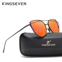 Kingseven Brand Designer 2016 Cat Eye Sunglasses Women Oculos De Sol UV400 Points Sunglass Fashion Female