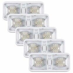 Kohree 5 пакетов 6 w 12 V автомобиль потолочный светодиодный светильник трейлер внедорожник Camper автомобилей Подсветка салона приспособление осв...