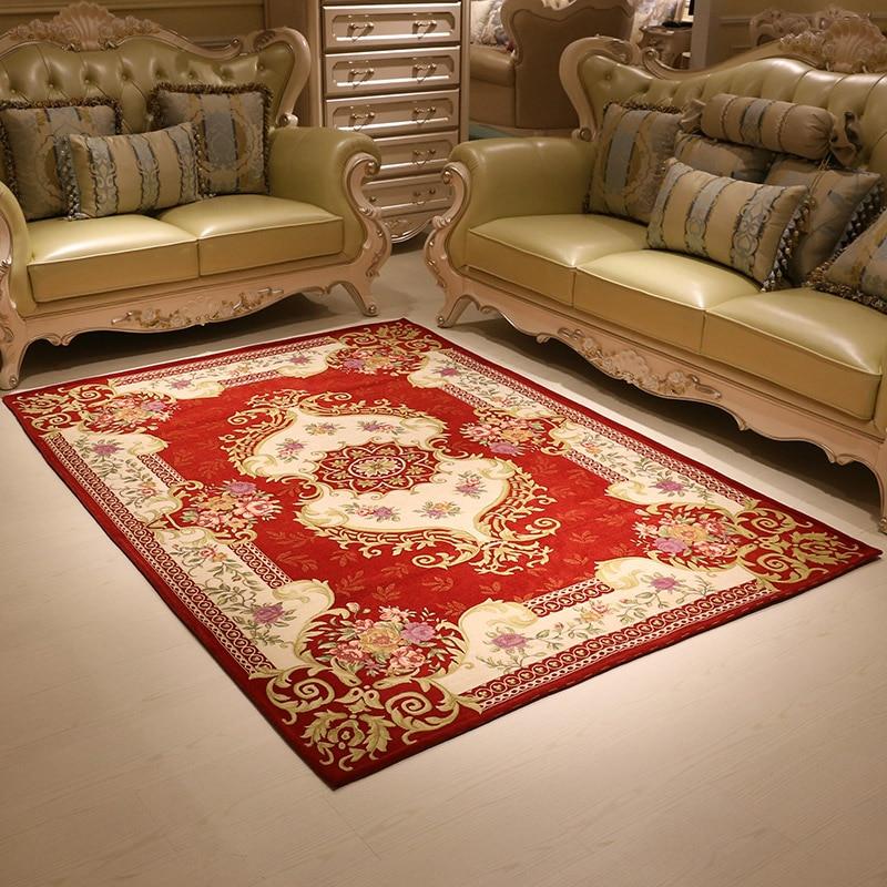 Top Grade Jacquard Living Room Carpet Parlor Rugs Corridor