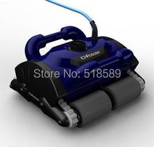 Free Shipping Fashion Swimming Pool Robot Cleaner Swimming Pool Automatic Pool Cleaning Equipment iCleaner-200 with Caddy Cart