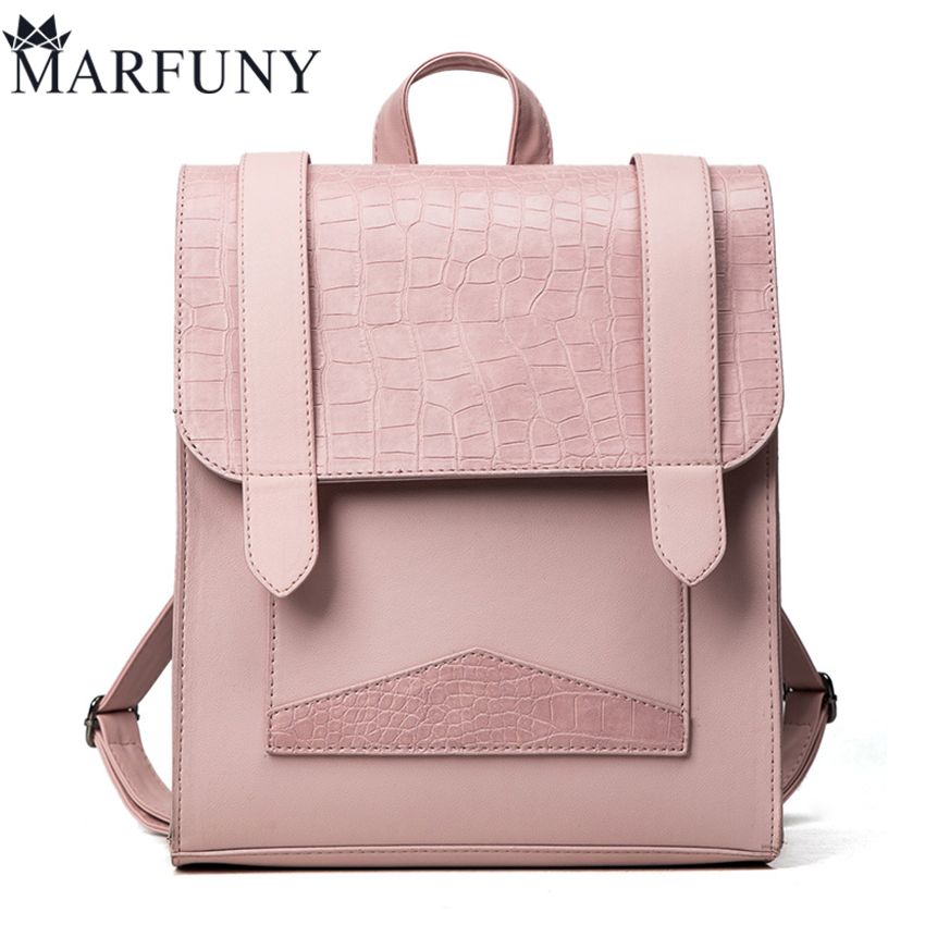 Luxury Alligator Backpack Women Bag Fashion Solid Backpacks For Teenage Girls School Bags High Quality Leather Mochila Sac A Dos stainless steel fishing pliers mono cutters purple silver