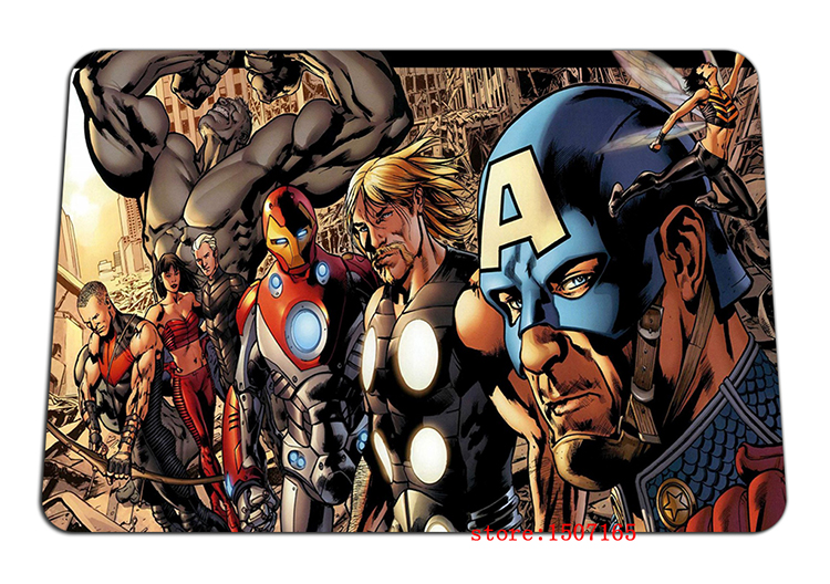 9 size cool The Avengers mouse pad assemble large pad to mouse computer mousepad Natural rubber gaming mouse mats to mouse gamer