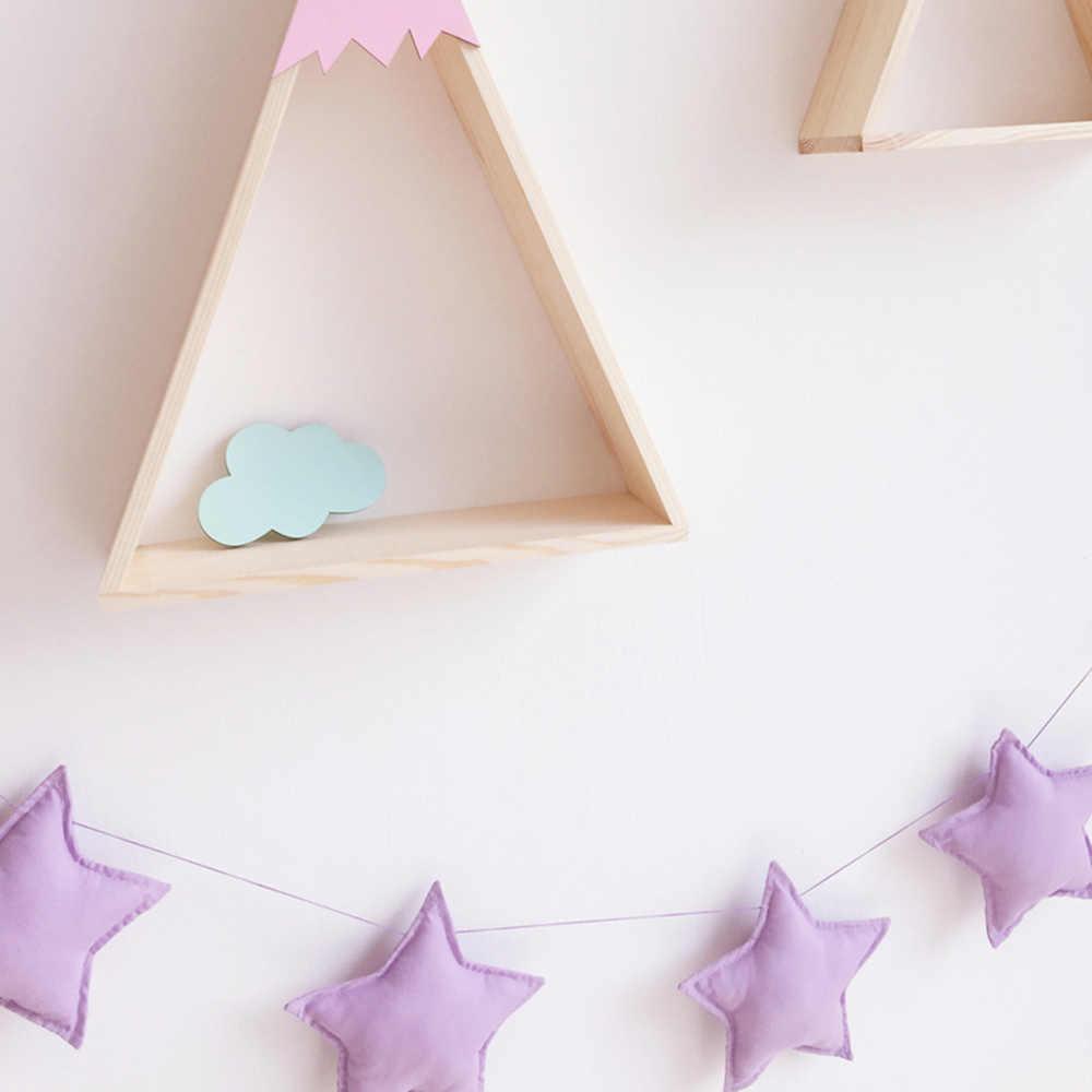 1.5 M الوفير Ins الساخن Nodic 5 نجوم مخطط الوليد الطفل في سرير الرضع غرفة ديكور التصوير الدعائم الطفل غرفة الديكور
