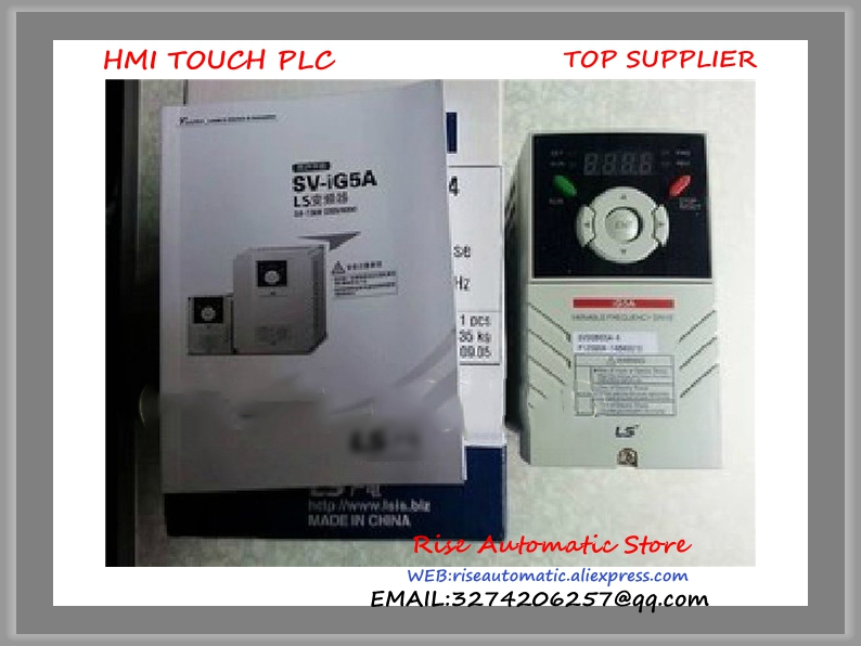 LSLV0004C100-1N new 0.4KW 1 phase 200V Inverter VFD frequency AC drive