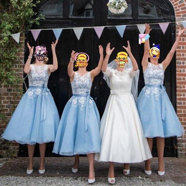 Garden Party Tea Length Dresses
