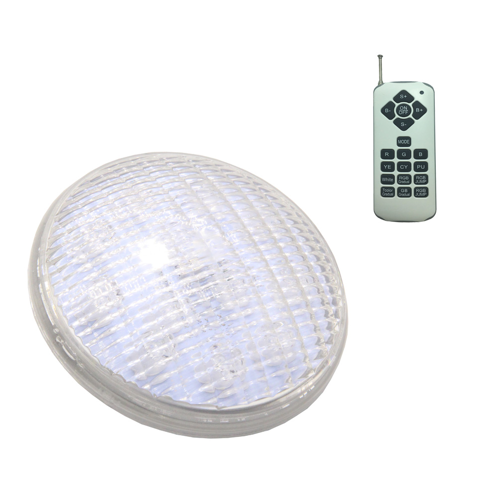 LED Spotlight 12V AC Underwater Lighting RGB PAR56 Piscina Synchronous Outdoor Pool Light 24W 36W 72W Cool White