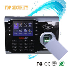 8000 users capacity TCP/IP biometric fingerprint time attendance time recorder ZK iclock360