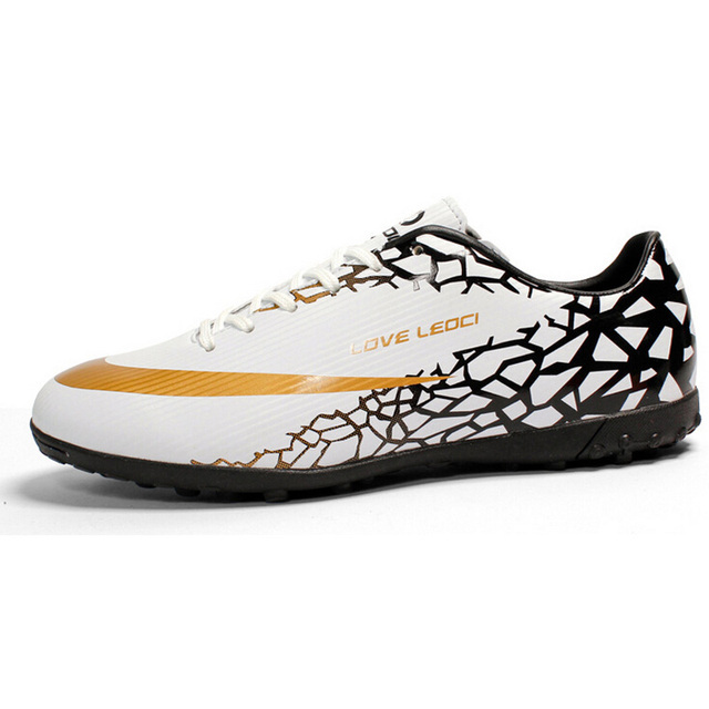 New Men Soccer Shoes Cleats For Adults