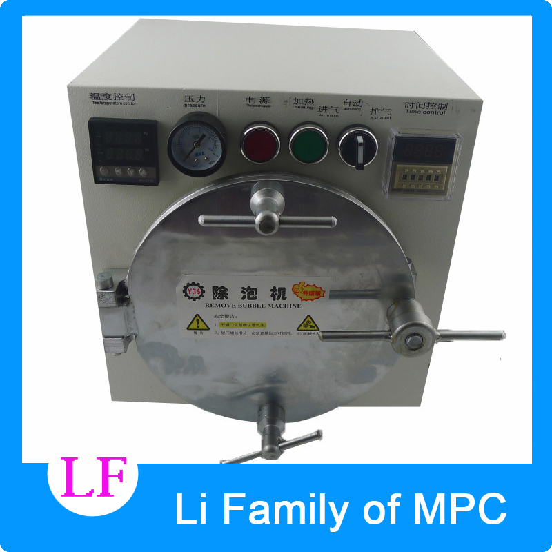 Autoclave Bubble Remover OCA Adhesive Sticker LCD Air Bubble Remove Machine+Air Compressor,Glass Refurbishment cellphone autoclave bubble remover oca adhesive sticker lcd air bubble remove machine air compressor glass refurbishment cellphone