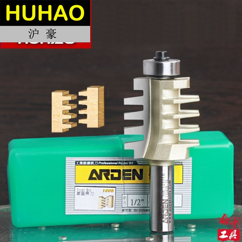 fresas para router Woodworking Tool ECONOMY FINGER JOINT BIT Joint Arden Router bit  - 1/2*3/8 - 1/2 Shank - Arden A1608058 tungsten alloy steel woodworking router bit buddha beads ball knife beads tools fresas para cnc freze ucu wooden beads drill