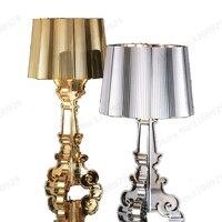 GZMJ Wonderland Modern Transparent ABS Plastic Phantom Shadows Bedroom Bedside Table Lamps LED Reading Desk Lights Home Lighting