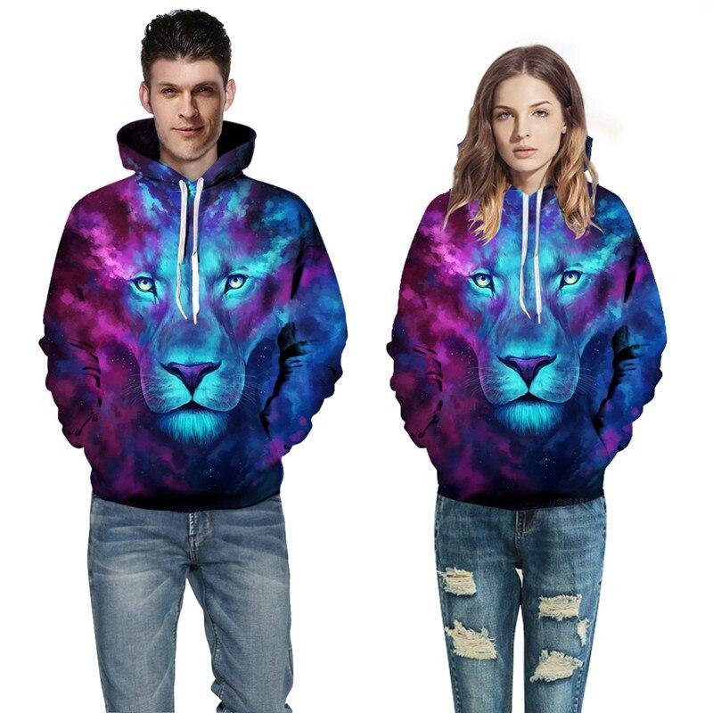 New Arrival Men Women 3D Printed Couples Hoodies Sweatshirt Plus size Pullovers Streetwear Male 3D Hooded Jacket Hoody