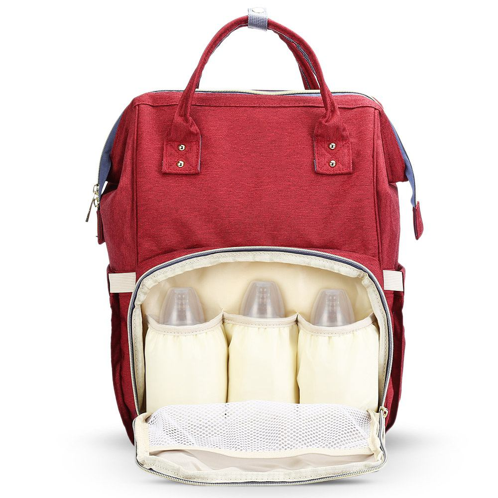 New Fashion Multifunctional Mummy Maternity Diaper Nappy Bag Baby Travel Backpack Diaper Organizer Nursing Bag For Baby Stroller waterproof maternity mummy bag for baby nappy bag diaper bag stroller organizer multifunctional baby nursing bag for baby care