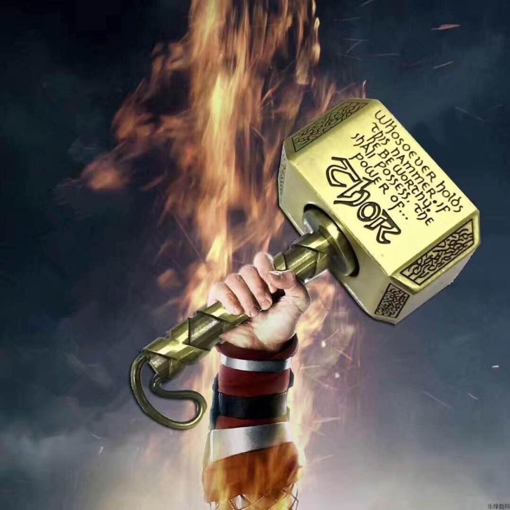 Thor's Hammer Multiple Creative Gameplay Thor Fidget Metal Hand Fidget Spinner Anti Stress Toys Gifts
