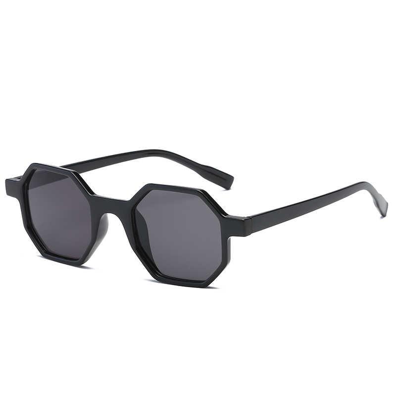 52e42a5d1c ... Long Keeper Small Hexagon Sunglasses Women 2018 New Brand Polygon Sun  Glasses Female Modern Style Men ...