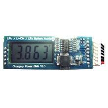 CHARGERY BM6 شاشة الكريستال السائل بطارية رصد إنذار تحذير لوحة دوائر كهربائية مؤشر وحدة 2 S 3 S 4 S 5 S 6 S ليثيوم أيون يبو الحياة حزمة الخليوي